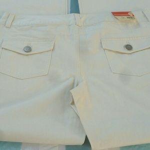Cream colored  weatherproof pants